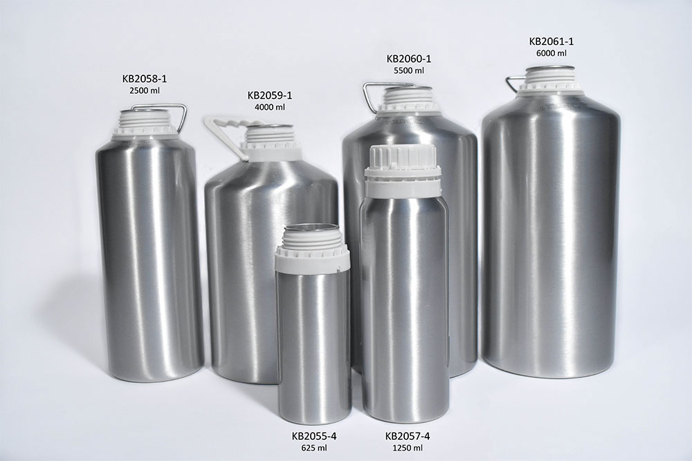 Wide Mouth Aluminum Bottles